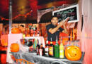 Halloween Dekoration in Bordbar